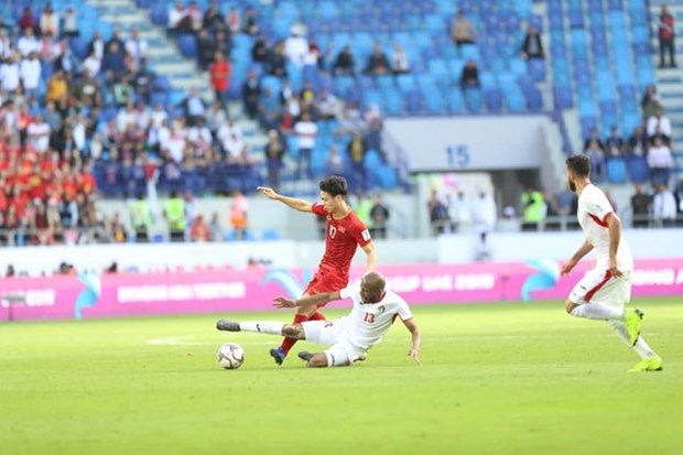 ASIAN Cup 2019 : le Vietnam qualifie pour les quarts de finale hinh anh 1
