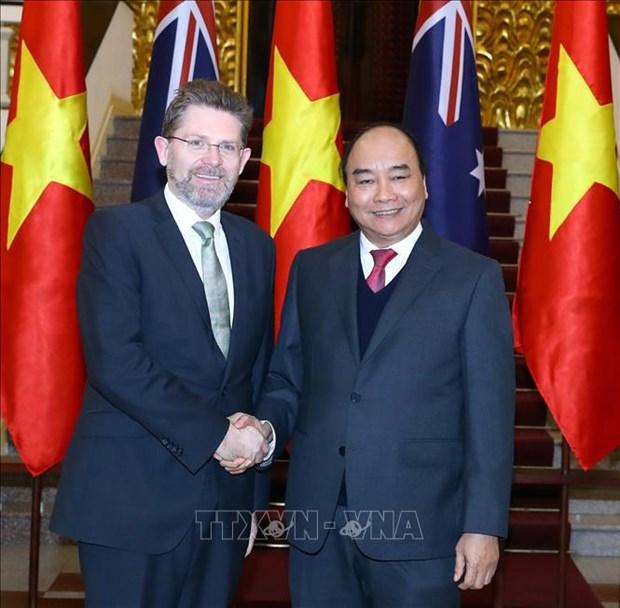 Pour promouvoir le partenariat strategique Vietnam-Australie hinh anh 1