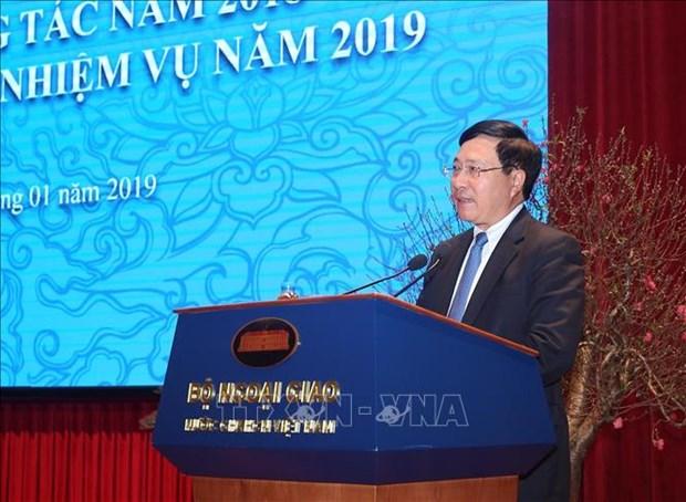 Le travail exterieur vise a approfondir les relations etablies entre le Vietnam et ses partenaires hinh anh 1