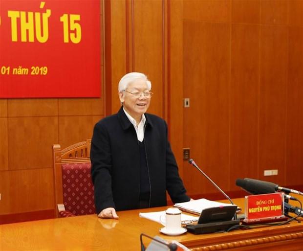 Le leader du Parti demande de renforcer la lutte anti-corruption hinh anh 1