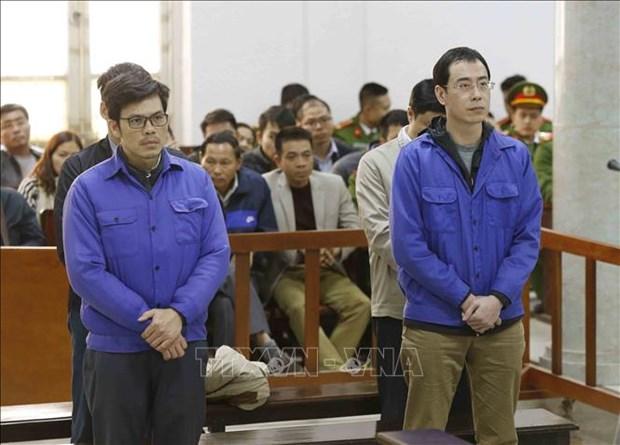 Quatre anciens cadres de BRS condamnes a un total 25 ans de prison hinh anh 1
