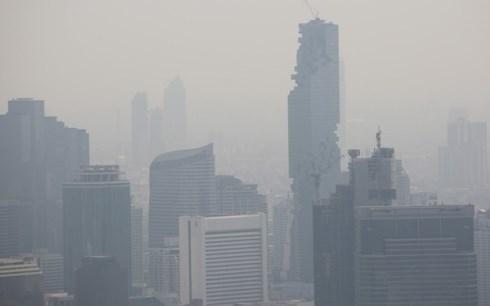 Bangkok toujours recouverte de nuages nocifs hinh anh 1