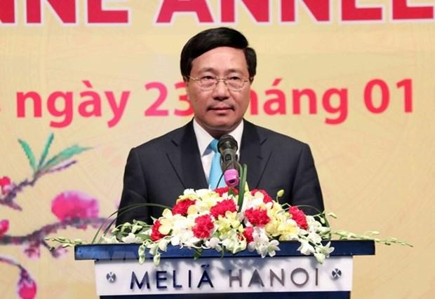Des diplomates etrangers contribuent au succes du Vietnam hinh anh 1