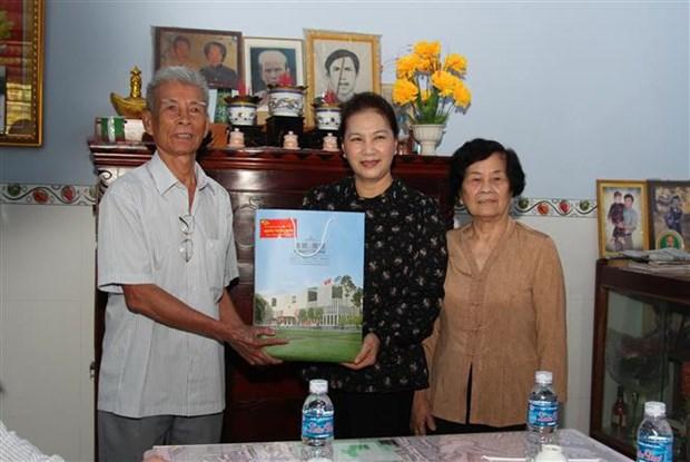 La presidente de l'AN exhorte Hau Giang a booster l'agriculture hinh anh 2