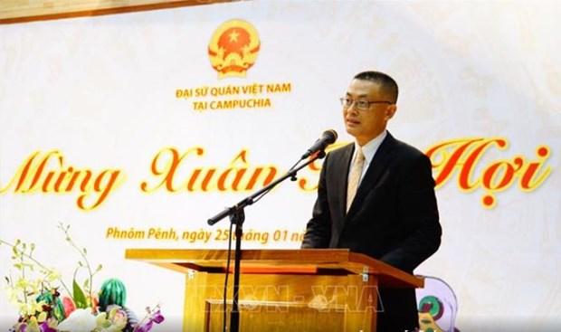 Les expatries celebrent le Tet et les liens Vietnam-Cambodge hinh anh 1