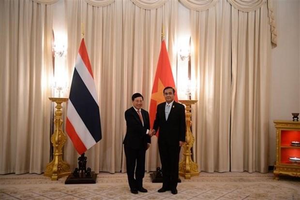 Le Vietnam et la Thailande veulent elargir leurs relations integrales hinh anh 2