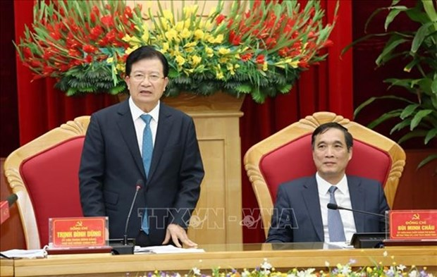 Phu Tho devrait se concentrer sur le developpement industriel hinh anh 1