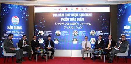 Hau Giang presente des ses atouts aux investisseurs japonais hinh anh 1