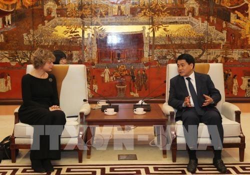 Hanoi coopere avec les Pays-Bas sur le traitement des dechets urbains hinh anh 1
