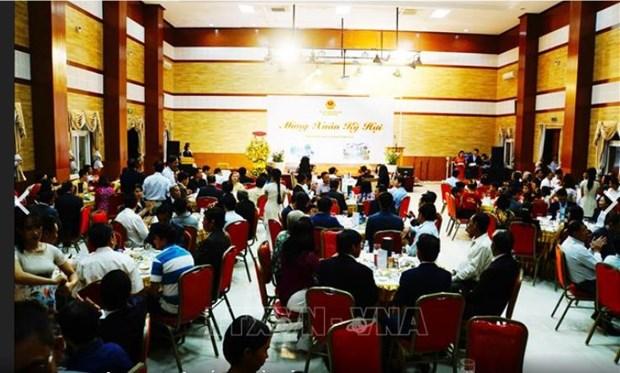 Les expatries celebrent le Tet et les liens Vietnam-Cambodge hinh anh 2