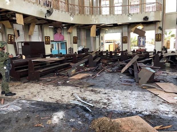 Attentat aux Philippines : pres de 80 morts et blesses hinh anh 1