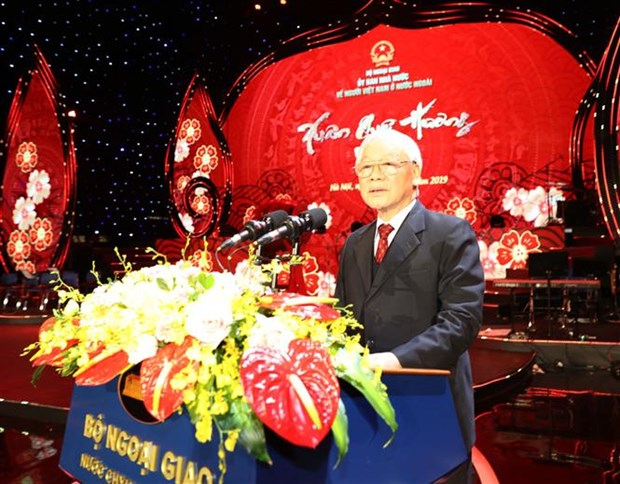 Le leader du Parti exhorte la diaspora a s'unir pour l'essor national hinh anh 1
