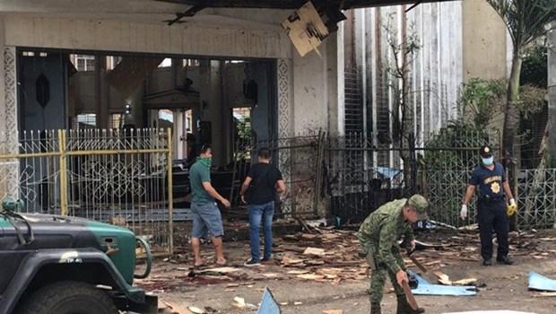 Condoleances aux Philippines pour les attentats terroristes a la bombe hinh anh 1