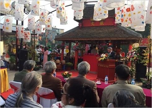 Hanoi: ouverture de la Fete de la calligraphie 2019 hinh anh 2