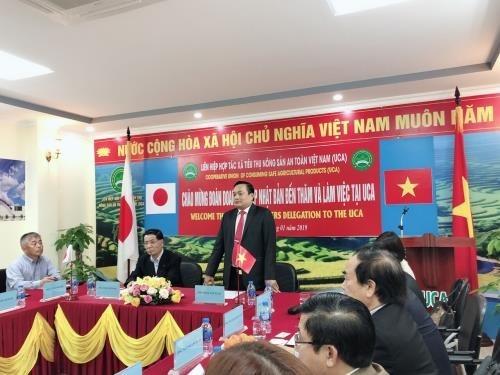 Les entreprises japonaises sondent le marche agricole vietnamien hinh anh 1