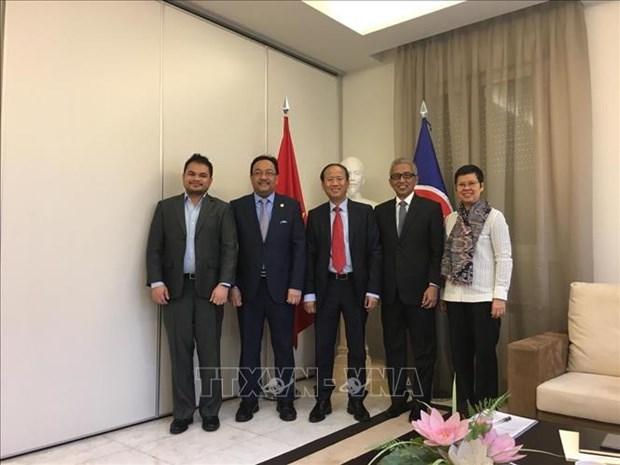 Le Vietnam assume la presidence tournante du Comite de l'ASEAN a Madrid hinh anh 1