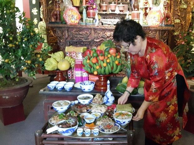 Au Vietnam, le Tet traditionnel a travers ses parfums hinh anh 1