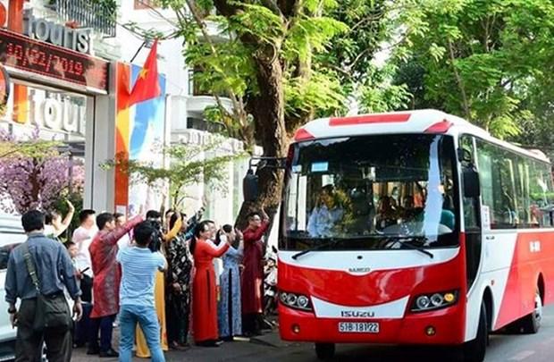 Ho Chi Minh-Ville: le marche touristique s'anime pendant les vacances du Tet hinh anh 1