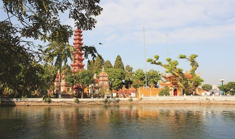 Les pagodes les plus frequentees a la fete du Tet a Hanoi hinh anh 1