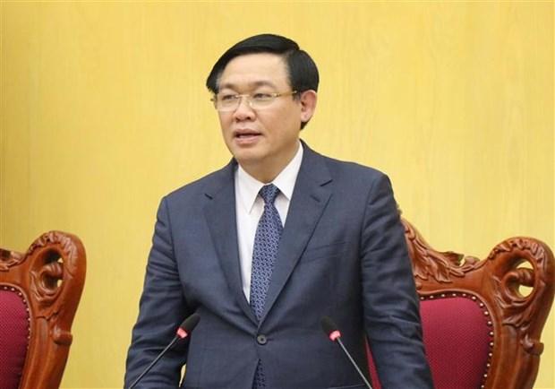 Le vice-PM Vuong Dinh Hue: Creer des moteurs et pressions pour aller de l'avant hinh anh 1