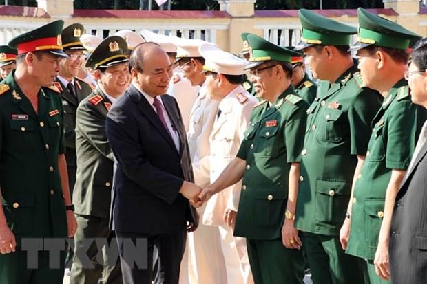Nouvel An lunaire: le PM en visite a Da Nang hinh anh 1
