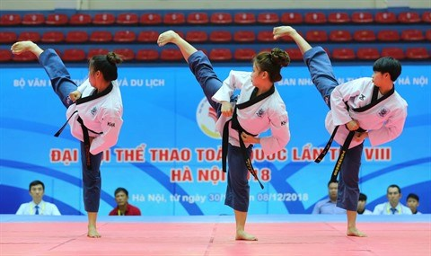 Le taekwondo vietnamien vers les JO de Tokyo 2020 hinh anh 2