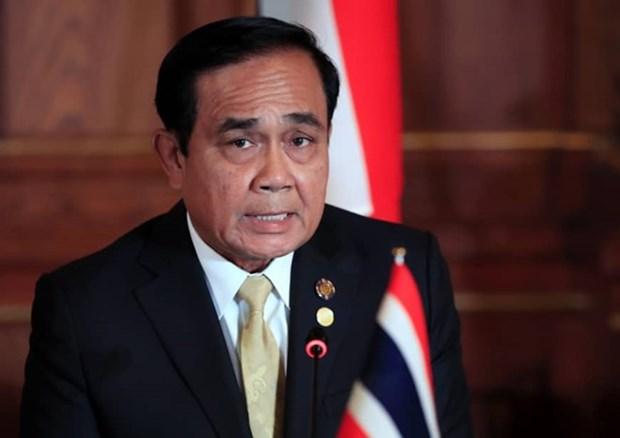 Le Premier ministre thailandais pose sa candidature aux elections hinh anh 1