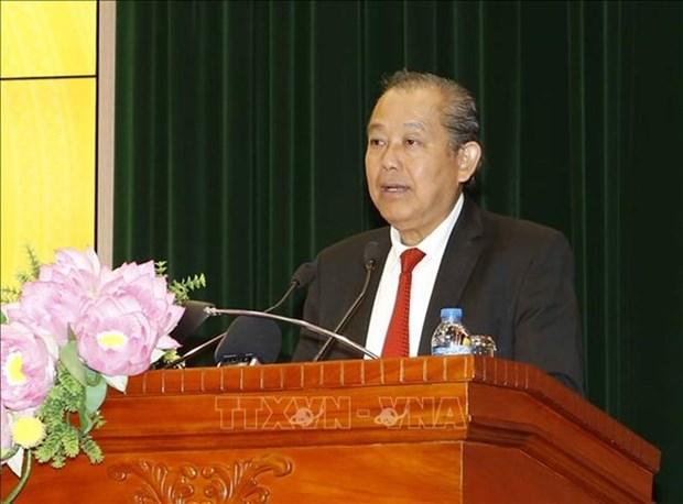 Le vice-PM Truong Hoa Binh salue l'Audit de l'Etat du Vietnam hinh anh 1