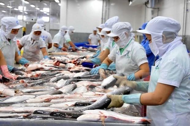 Bond des exportations des produits aquatiques en janvier hinh anh 1