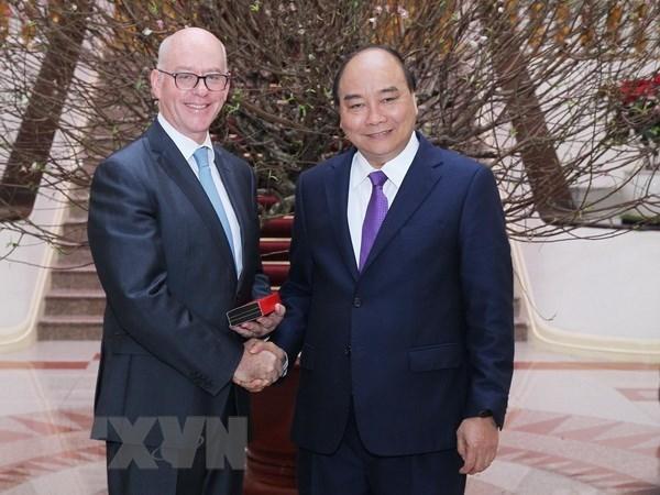  Le PM Nguyen Xuan Phuc recoit un dirigeant du FMI hinh anh 1