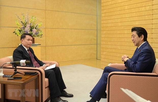 Le partenariat Vietnam-Japon vise a contribuer a la paix et a la prosperite regionales hinh anh 1