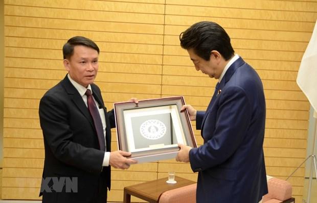 Une delegation de VNA en visite de travail au Japon hinh anh 1