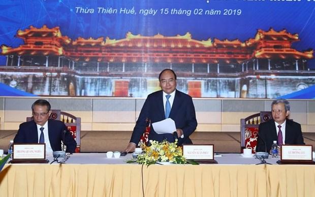Le PM a la conference du Conseil de la region economique de pointe du Centre hinh anh 1