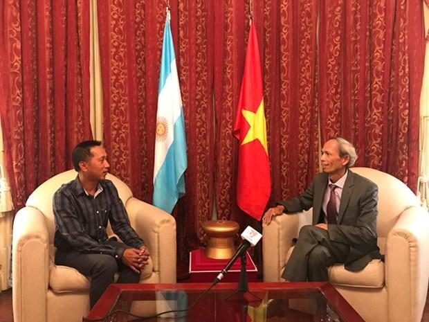 La visite du president argentin marquera une etape importante dans les relations bilaterales hinh anh 1