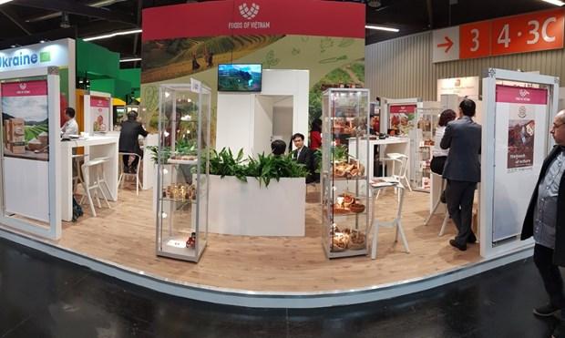 Des produits agricoles bio du Vietnam exposes a la foire Biofach a Nuremberg hinh anh 1