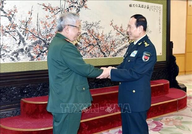 Le Vietnam et la Chine renforcent leur cooperation en matiere de defense hinh anh 1