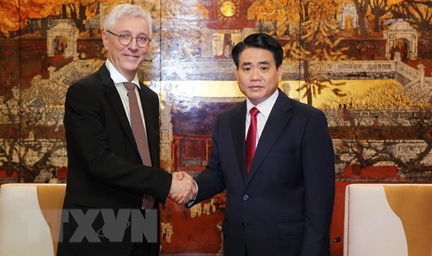 Hanoi renforce sa cooperation avec Toulouse hinh anh 1