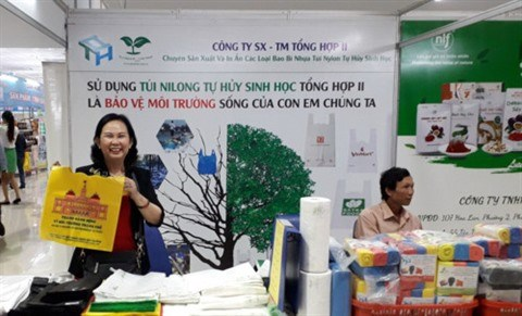 Des sacs en bioplastique vietnamiens a l'assaut du marche mondial hinh anh 1