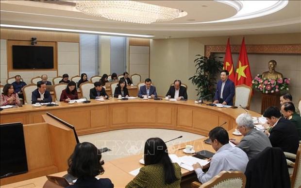 Le vice-PM Pham Binh Minh preside une reunion sur la preparation du 2e sommet Etats-Unis-RPDC hinh anh 1