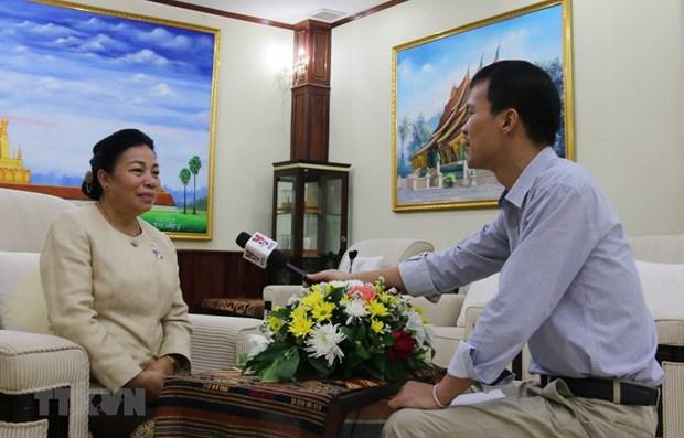Les relations speciales Laos-Vietnam se developpent continuellement hinh anh 1