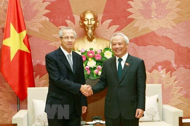Le vice-president de l'AN Uong Chu Luu recoit le president de la Cour supreme thailandaise hinh anh 1
