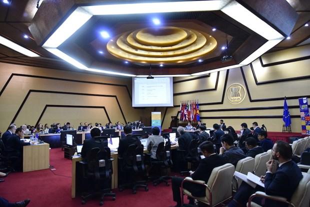 La 26e reunion du comite mixte de cooperation ASEAN-UE hinh anh 2