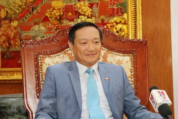Le diplomate vietnamien souligne l'importance de la visite du leader du PCV Nguyen Phu Trong au Laos hinh anh 1