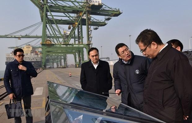 Renforcement de la cooperation entre les localites vietnamiennes et la ville chinoise de Tianjin hinh anh 1