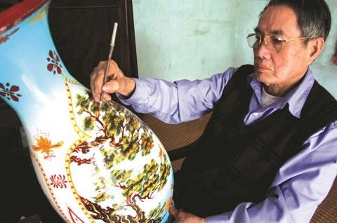 Un nouveau style de laques pour exprimer la tradition a Cat Dang hinh anh 1