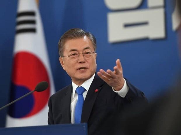 La R. de Coree s'engage a œuvrer pour la reprise de la cooperation economique avec la RPDC hinh anh 1