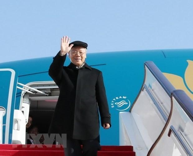 La presse cambodgienne souligne la visite du plus haut dirigeant vietnamien hinh anh 1