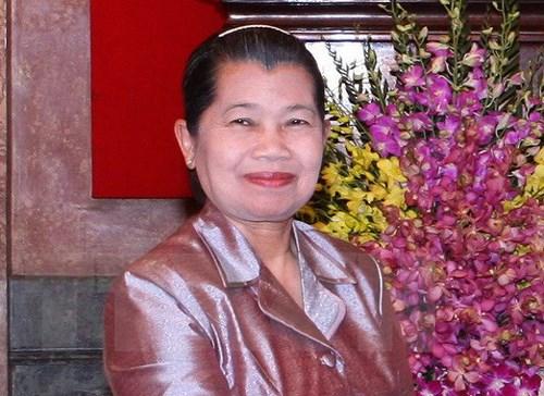 Une «visite tres importante» pour renforcer l'amitie Vietnam-Cambodge hinh anh 1
