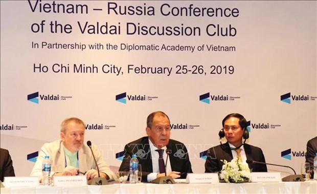 Conference sur la cooperation Vietnam - Russie dans un contexte de fluctuations hinh anh 1