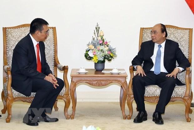 Le PM Nguyen Xuan Phuc recoit le PDG du groupe thailandais SCG hinh anh 1